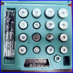 Valve Seat Reamer Motorcycle Repair Displacement Cutter Valve Tool Kit with Box
