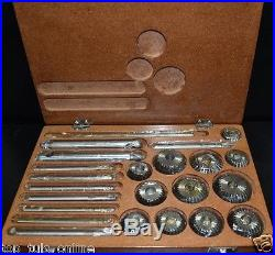 Valve Seat Tool Kit 12 Pcs High Carbon Steel Cutter For Vintage Block Heads Hq