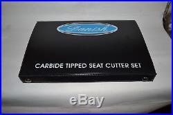 Valve seat Cutter Set Carbide Tipped 3 Angle Cut Custom Made