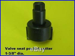 Valve seat POCKET CUTTER 1-3/8 diameter, 3/8 pilot hole, 1/2 hex. Drive