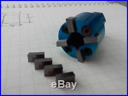 Valve seat pocket cutter adjustable, range 1- 1 1/8 for 3/8 pilot