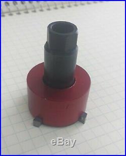 Valve seat pocket cutter adjustable, range 1 3/8- 1 5/8 for 3/8 pilot