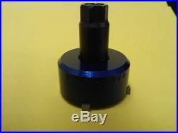 Valve seat pocket cutter adjustable, range 1 5/8- 1 7/8 for 3/8 pilot