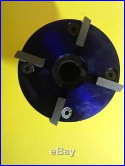 Valve seat pocket cutter adjustable, range 1 7/8- 2 1/8 for 3/8 pilot