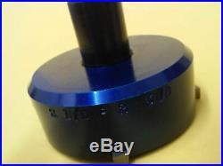 Valve seat pocket cutter adjustable, range 2 1/8- 2 3/8 for 3/8 pilot