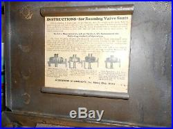 Vintage Albertson & Co, SIOUX Valve Seat Cutter Grinder with Pilots & Metal Case