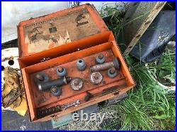 Vintage SIOUX Model 129 Valve Seat Grinder Cutter with Stones And Tooling