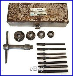 Vintage Sykes Pickavant 017700 Valve Seat Cutter Kit
