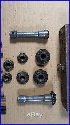 Vintage Sykes Pickavant No 177 / 177M Valve Seat Cutter Sets x 2