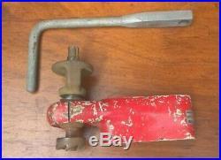 Vintage Warren & Brown Valve Seat Insert Cutter Kit With Spindle & Handle