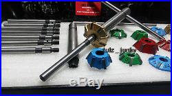 Volkswagen Vw Bug 3 Angle Cut Carbide Tipped Valve Seat Cutter Kit