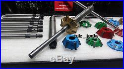 Vw Bug 3 Angle Cut Carbide Tipped Valve Seat Cutter Kit 1200,1300,1600 CC