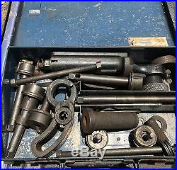 WOW! Vintage Valve Seat Cutter Set With Metal Storage Box