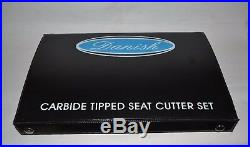 YAMAHA SX-650 VALVE SEAT CUTTER KIT CARBIDE 3 ANGLE CUT 30 + 45 + 60 Degrees